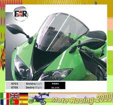 FÜR BUELL 1125 R PAAR SPIEGEL Rückspiegel SCHWARZ Motorradverkleidung