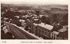 Halstead High Street Bird's Eye View unused RP pc WHS Kingsway S9156