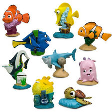 9PCS Finding Nemo Dory Action Figures Doll Cute Movie Baby Toy Set For Kids Gift