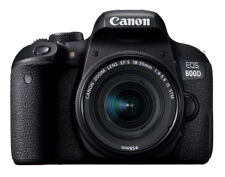 Canon EOS 800D 24.2 MP Digital SLR Camera - Black (Kit with 18-55mm f/1:4-5.6 IS STM Lens)