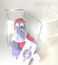Collectible Big Lug Lansing Lugnuts Beanie Baseball Mascot NWT includes case