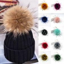 10cm Faux Fur Fluffy Pompom Ball for Key Hats Scarves Keychains Bag Soft Charms