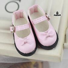 MSD Shoes 1/4 BJD Shoes Dollfie bow lolita shoes DREAM DOD AOD SOOM MID DZ #Pink