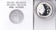 10 euros argent belgique 2009