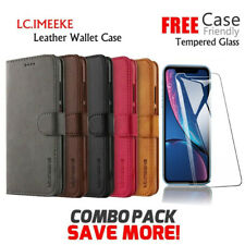 Apple iPhone 12 Pro Max SE X XS Max XR 7 8 6 Plus Wallet Case Leather Flip Cover