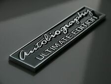 LAND Rover autobiografia Ultimate Badge Emblema Range Rover Defender Evoque discoteca