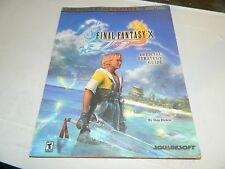 Brady Games Final Fantasy X Official Strategy Guide 10 for Playstation 2 PS2
