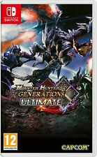 MONSTER HUNTER GENERATIONS ULTIMATE NINTENDO SWITCH GIOCO ITALIANO NUOVO PAL