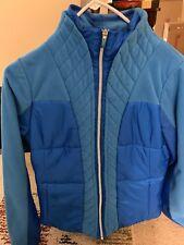 Lululemon Winter Jacket Women's 6 Blue Quilted Fleece Lined Jacket