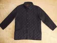 Mens Barbour New Classic Eskdale Quilted Jacket In Navy - Size XL