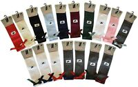 Girls Knee High Girls School Socks With Bow children kids All Size