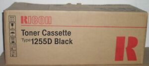 Ricoh Type 1255D Toner black 411073 für Aficio 120 FX12 Docustation 3110 OVP B