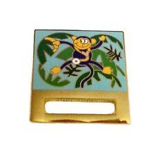 ID Badge Holder Monkey Banana Ribbon Pin Tac Prestige Medical Retired New