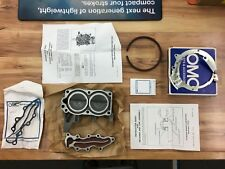 OMC Johnson Evinrude Outboard 9.9HP Cylinder Head & Wtr Cover Kit P/N 388055 NOS