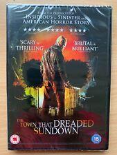 The Town That Dreaded Sundown DVD 2014 True Life Horror Slasher Thriller Remake