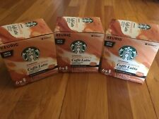 NEW Starbucks Pumpkin Spice Latte K-Cups ~ Pods & Flavor Packets,  18 servings!