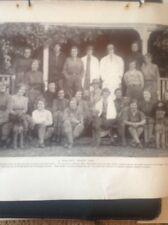 L2-6 Ephemera 1930s Picture Beamish Levey Ardross Kennels Training School Staff
