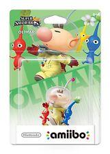 NIB Nintendo Super Smash Bros Amiibo Wii Pikman & Olimar WiiU 3DS US NA Version