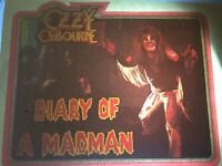 """Vintage Ozzy Osbourne T-Shirt Iron-On """"Diary of a Madman"""" 1981 NO/S Very Rare!"""