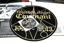 MORBID ANGEL – Covenant – CLEAR LP + SLIPMAT + STICKER (LTD 200) – NEW & SEALED!
