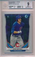 2014 1st Bowman Chrome Prospect Kris Bryant Rookie Card RC BGS 9 10 Sub Cubs