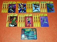 OVERPOWER Heroes for Hire PLAYER SET hero 16 sp 1 Marvels Iron Fist Hulk