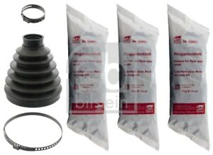 CV Joint Boot Kit fits MERCEDES ML320 W164 3.0D Front Inner 05 to 09 OM642.940