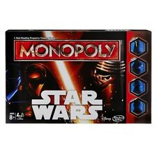 Star Wars The Force Awakens Monopoly Board Game Hasbro 8 2015