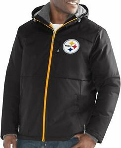Pittsburgh Steelers G-III Sports Men's Cardinal Points Full Zip Polyfill Jacket