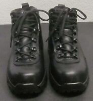 RED WING 2380 WOMEN'S SIZE (6 D) BLACK LACE UP ANKLE BOOTS STEEL TOE WATERPROOF