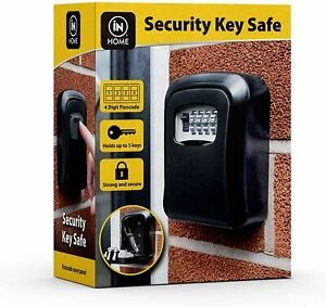 Key Safe Secure Wall Mounted Box Combination Security Spare Keys Outdoor Home