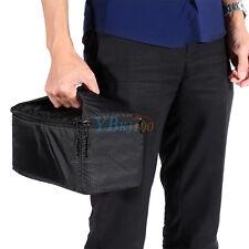 Zipper Padded Bag Protective Carrying Pouch Pocket New For DSLR Camera Lens SR