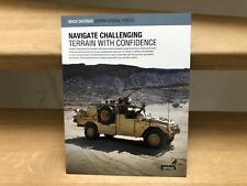 Mack Defense Sherpa Special Forces armoured vehicles brochure
