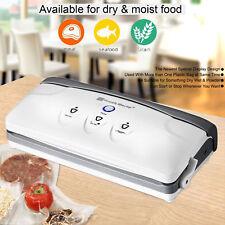 Fresh World Vacuum Food Sealer Saver Storage wet dry pulse Free 15M bag rolls