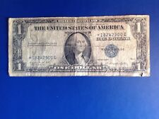 1935-G $1 Silver Certificate Star Note Circulated