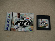 FIFA 2000 (Nintendo Game Boy Color, 1999) w/ manual