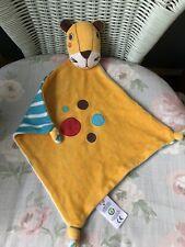 Frugi Leopard Tiger Couvre-lit Plaid Soft Toy ANNEAU DE DENTITION DOUDOU COTON B...