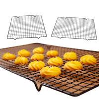 Nonstick Grid Baking Cooling Rack Mesh Cookie Biscuit Cooler Tray DIY Bakeware