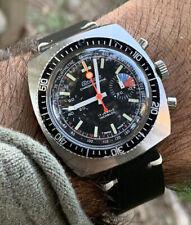 Orologio Watch Condor Chronograph Regata Dial Valjoux 7733 Vintage Swiss Made