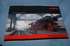 Marklin Katalog Catalog NEW ITEMS 2010-2011 NL