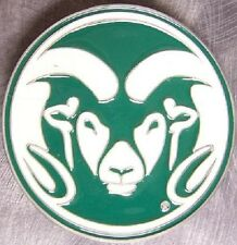 NCAA Pewter Belt Buckle Colorado State University Rams NEW