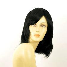 Perruque femme mi longue noir TAMARA 1B