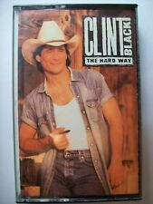 Clint Black On Cassette Tape. The Hard Way.