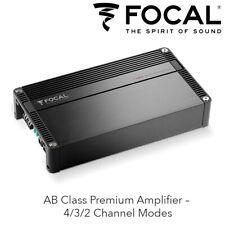 Focal FPX 4.400 SQ - 4 Channel AB Class Premium Amplifier 4/3/2 Channel Modes BN