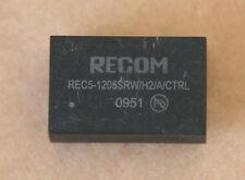 RECOM REC5-1205SRW/H2/A/CTRL  DC/DC 9-18V IN 5VDC OUT 5W. 1A.