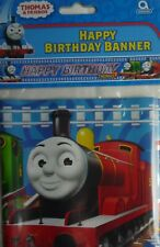 Thomas the Tank Engine 5 Yard/ 4.5m Foil Happy Birthday Party Banner Decoration