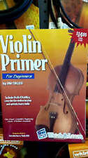 Violin Lesson Book Primer for Beginners Plus Audio CD with 14 songs