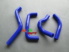 For SUZUKI RMZ450 RMZ 450 2005 05 silicone coolant radiator hose blue