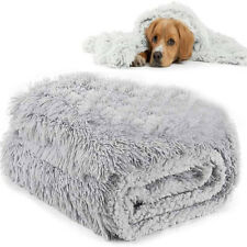 More details for soft plush pet car blanket double-layer dog puppy cat bed mat comfortable & wa*s