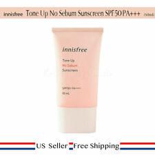 innisfree Tone Up No Sebum Sunscreen SPF50 PA+++ 50ml+ Free Sample [ US ]